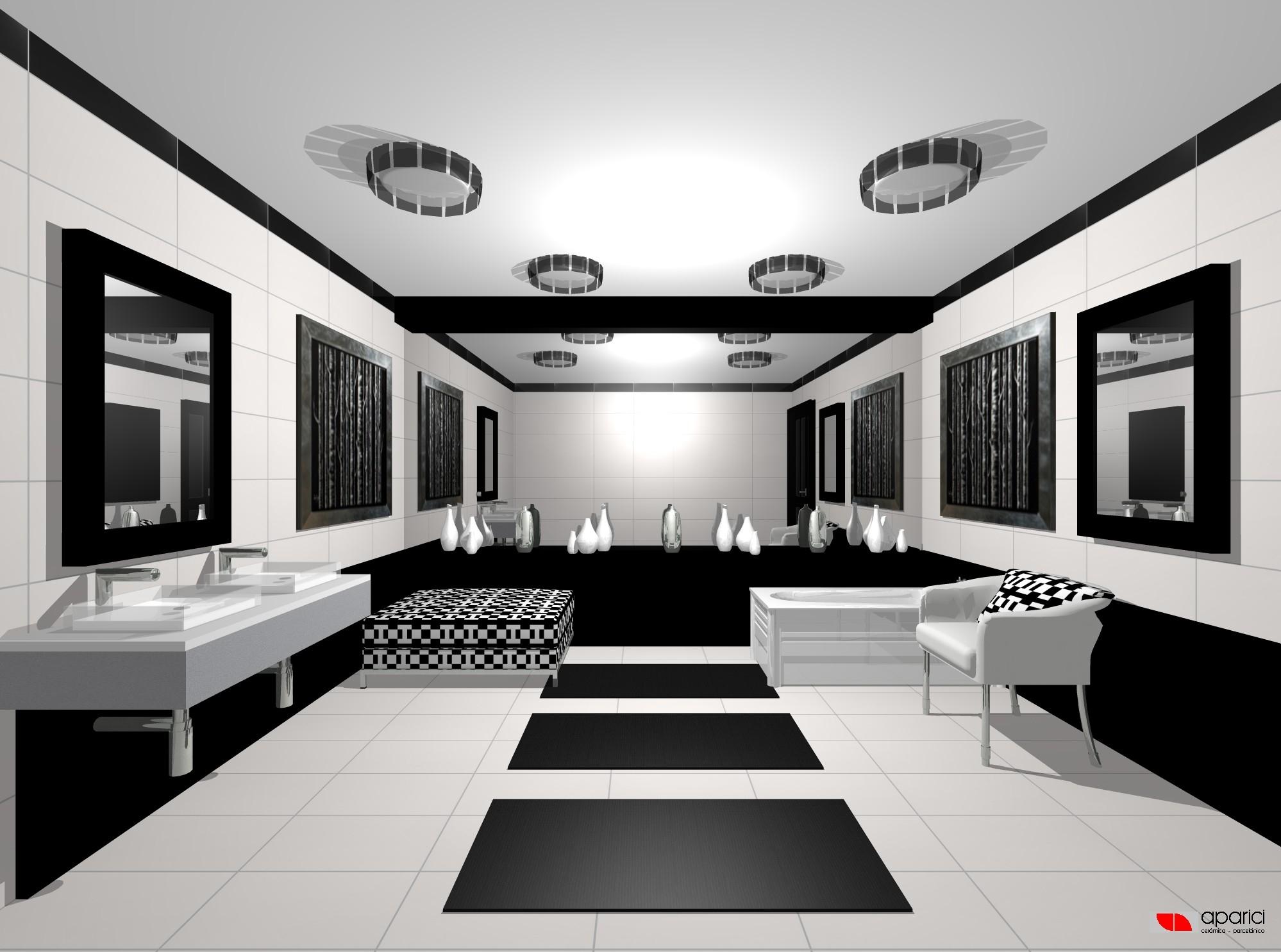 Dise o multiespais for Disenos de interiores en blanco y negro